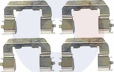 Carrab Brake Parts 2449 - Piederumu komplekts, Disku bremžu uzlikas interparts.lv