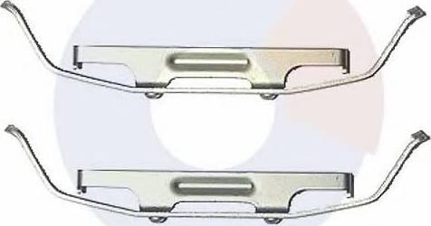 Carrab Brake Parts 2459 - Piederumu komplekts, Disku bremžu uzlikas interparts.lv