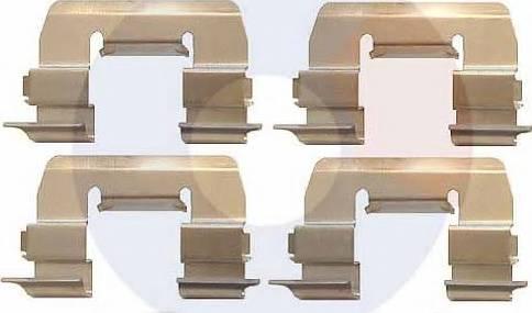 Carrab Brake Parts 2400 - Piederumu komplekts, Disku bremžu uzlikas interparts.lv