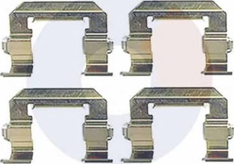 Carrab Brake Parts 2430 - Piederumu komplekts, Disku bremžu uzlikas interparts.lv