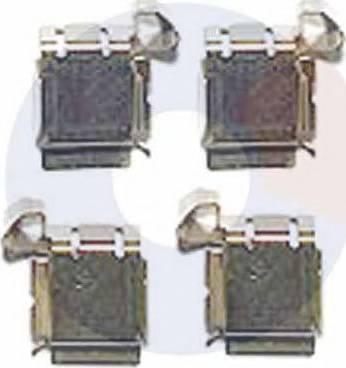 Carrab Brake Parts 2479 - Piederumu komplekts, Disku bremžu uzlikas interparts.lv
