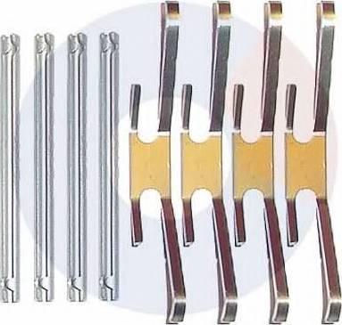 Carrab Brake Parts 2008 - Piederumu komplekts, Disku bremžu uzlikas interparts.lv