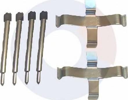 Carrab Brake Parts 2003 - Piederumu komplekts, Disku bremžu uzlikas interparts.lv
