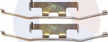 Carrab Brake Parts 2194 - Piederumu komplekts, Disku bremžu uzlikas interparts.lv