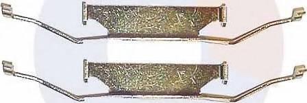 Carrab Brake Parts 2138 - Piederumu komplekts, Disku bremžu uzlikas interparts.lv