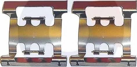 Carrab Brake Parts 2133 - Piederumu komplekts, Disku bremžu uzlikas interparts.lv