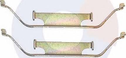 Carrab Brake Parts 2176 - Piederumu komplekts, Disku bremžu uzlikas interparts.lv
