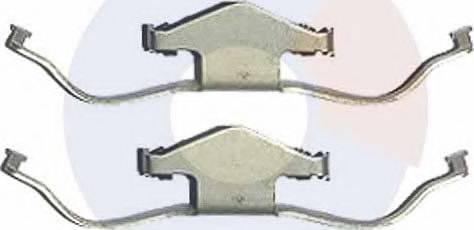 Carrab Brake Parts 2344 - Piederumu komplekts, Disku bremžu uzlikas interparts.lv