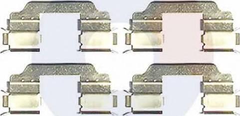 Carrab Brake Parts 2356 - Piederumu komplekts, Disku bremžu uzlikas interparts.lv