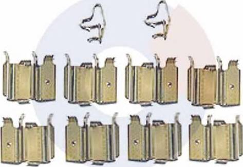 Carrab Brake Parts 2312 - Piederumu komplekts, Disku bremžu uzlikas interparts.lv
