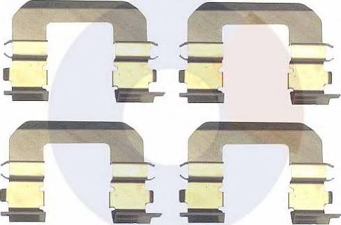 Carrab Brake Parts 2329 - Piederumu komplekts, Disku bremžu uzlikas interparts.lv