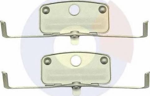 Carrab Brake Parts 2378 - Piederumu komplekts, Disku bremžu uzlikas interparts.lv