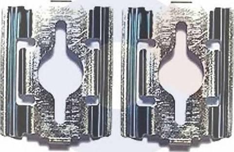 Carrab Brake Parts 2295 - Piederumu komplekts, Disku bremžu uzlikas interparts.lv