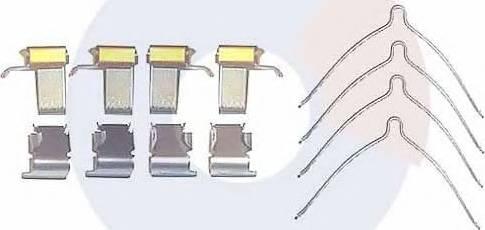 Carrab Brake Parts 2250 - Piederumu komplekts, Disku bremžu uzlikas interparts.lv