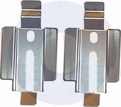 Carrab Brake Parts 2218 - Piederumu komplekts, Disku bremžu uzlikas interparts.lv