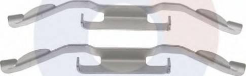 Carrab Brake Parts 2284 - Piederumu komplekts, Disku bremžu uzlikas interparts.lv