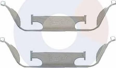 Carrab Brake Parts 2285 - Piederumu komplekts, Disku bremžu uzlikas interparts.lv