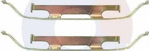 Carrab Brake Parts 2286 - Piederumu komplekts, Disku bremžu uzlikas interparts.lv