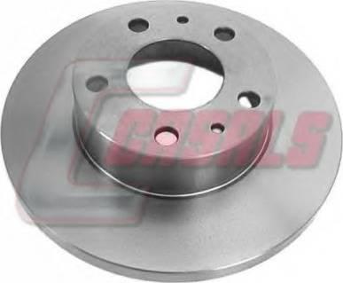 Casals 55405 - Bremžu diski interparts.lv