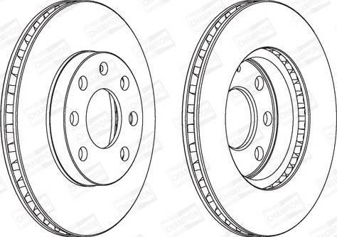 FREMAX BD-1440 - Bremžu diski interparts.lv