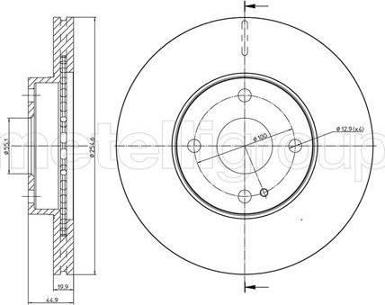 Cifam 800-999 - Bremžu diski interparts.lv