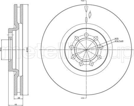 Cifam 800-914C - Bremžu diski interparts.lv