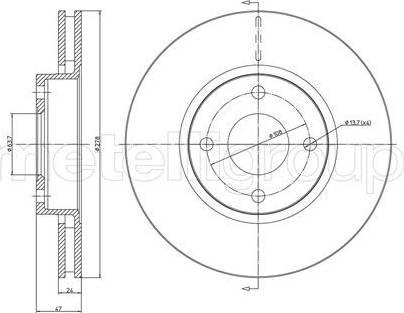 Cifam 800-498 - Bremžu diski interparts.lv