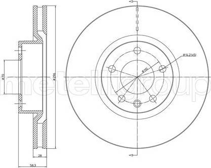 Cifam 800-441 - Bremžu diski interparts.lv