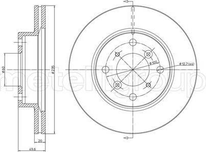 Cifam 800-510 - Bremžu diski interparts.lv