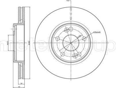 Cifam 800-533 - Bremžu diski interparts.lv