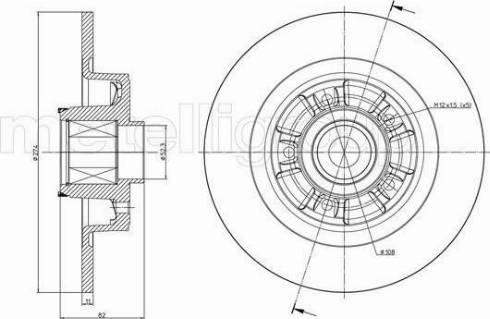Cifam 800-692 - Bremžu diski interparts.lv