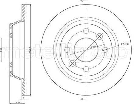 Cifam 800-669 - Bremžu diski interparts.lv