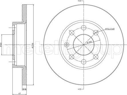 Cifam 800-080 - Bremžu diski interparts.lv