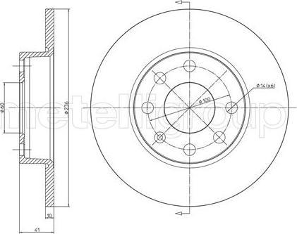 Cifam 800-071 - Bremžu diski interparts.lv