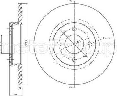 Cifam 800-179 - Bremžu diski interparts.lv