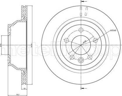 Cifam 800-849C - Bremžu diski interparts.lv