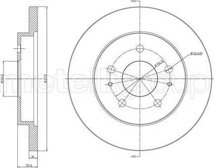 Cifam 800-841 - Bremžu diski interparts.lv