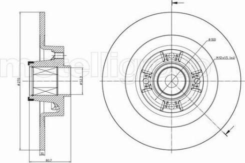 Cifam 800-804 - Bremžu diski interparts.lv