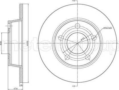 Cifam 800-806C - Bremžu diski interparts.lv