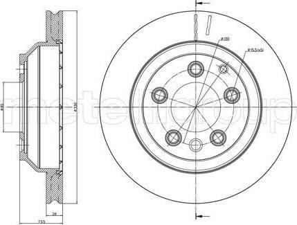 Cifam 800-883C - Bremžu diski interparts.lv