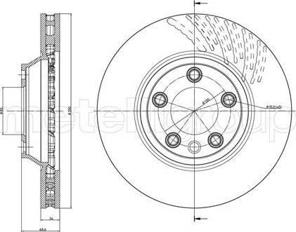 Cifam 800-876C - Bremžu diski interparts.lv