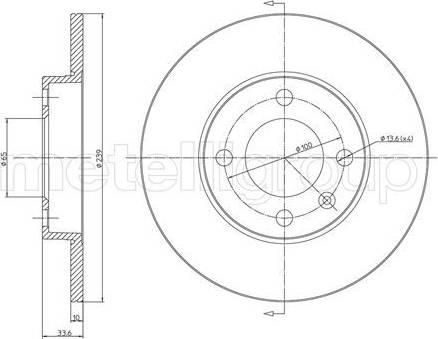 Cifam 800-371 - Bremžu diski interparts.lv