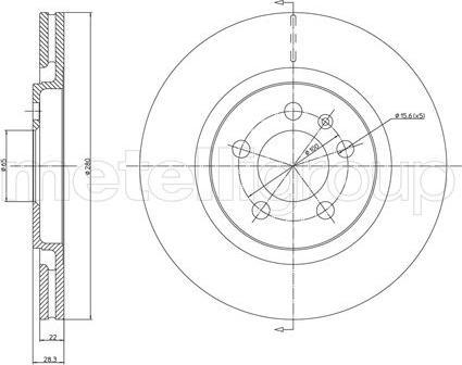 Cifam 800-242 - Bremžu diski interparts.lv