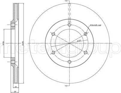 Cifam 800-247 - Bremžu diski interparts.lv