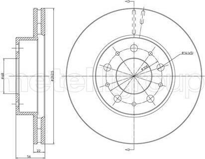 Cifam 800-200 - Bremžu diski interparts.lv