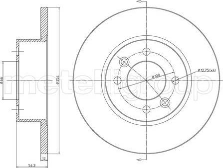 Cifam 800-218 - Bremžu diski interparts.lv