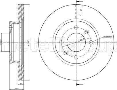 Cifam 800-788 - Bremžu diski interparts.lv