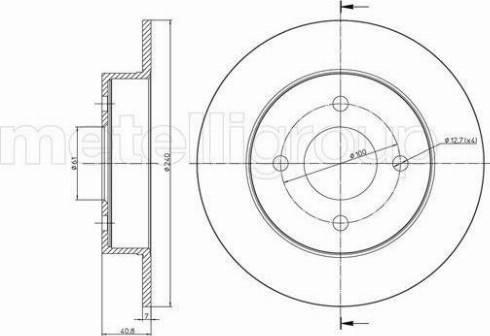 Cifam 800-720 - Bremžu diski interparts.lv