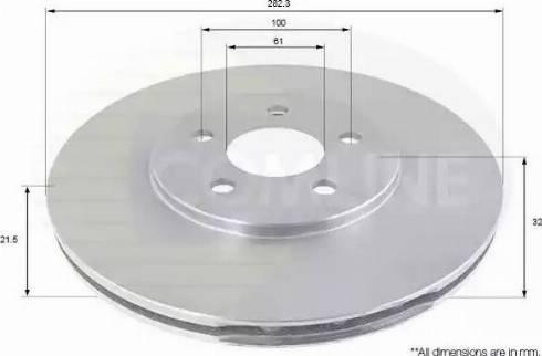 Comline ADC2310V - Bremžu diski interparts.lv