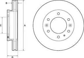 FREMAX BD-7916 - Bremžu diski interparts.lv